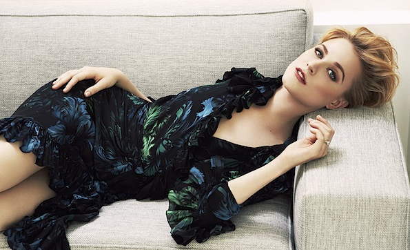 Evan Rachel Wood Glamour