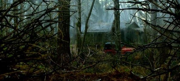 Evil dead remake cabin