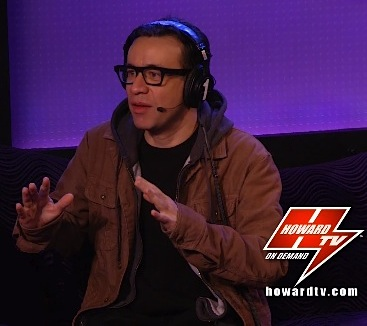 Fred Armisen Howard Stern interview