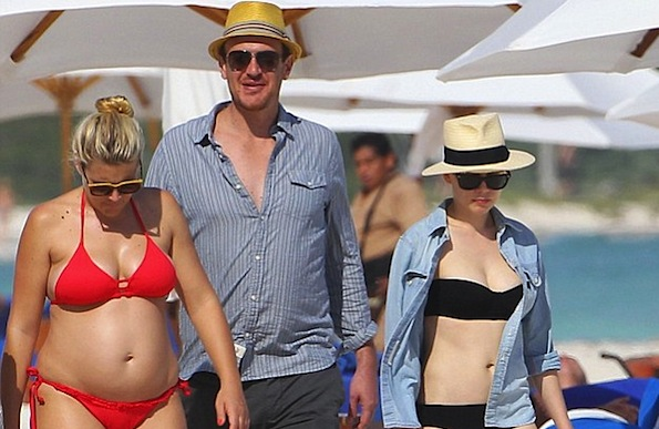 Jason Segel Michelle Williams Busy Philipps
