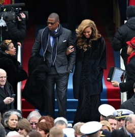 Jay-Z and Beyonce inauguration