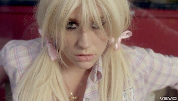 Kesha pigtails