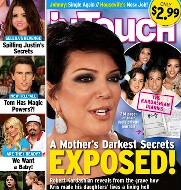Kris Jenner unfit mother
