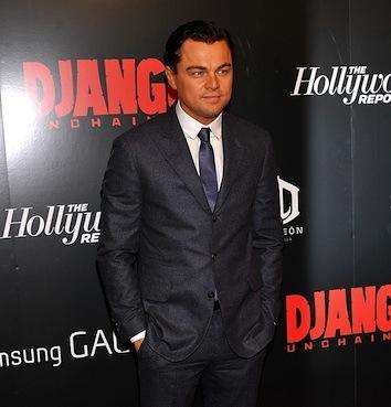 Leonardo DiCaprio Django Unchained event