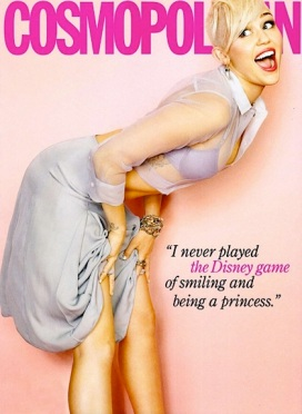 Miley Cyrus Cosmopolitan March 2013