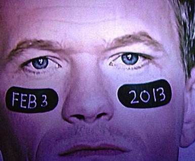 Neil Patrick Harris eye black