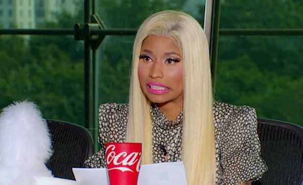 Nicki Minaj american idol face