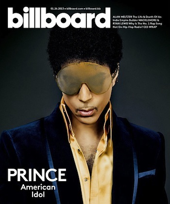 Prince billboard cover 2013