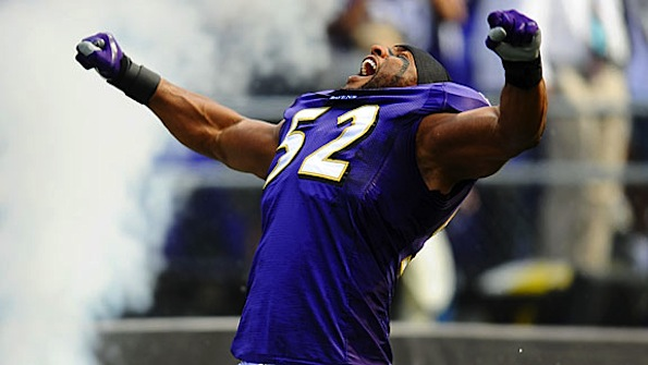 Ray Lewis angry purple hulk