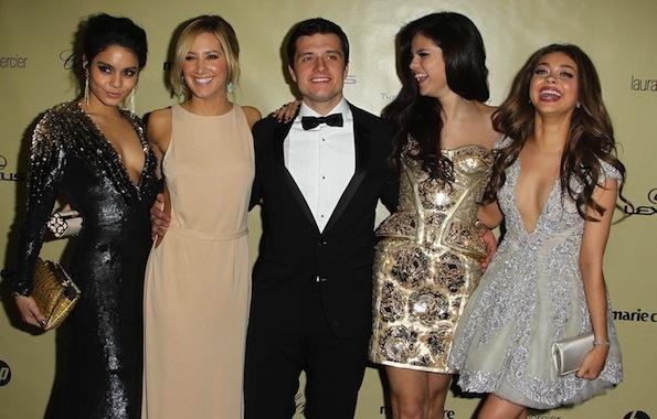 Selena Gomez Josh Hutcherson Globes