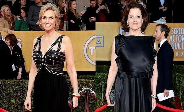 Sigourney Weaver Jane Lynch SAG awards