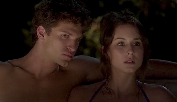 Toby Spencer hottub Pretty Little Liars