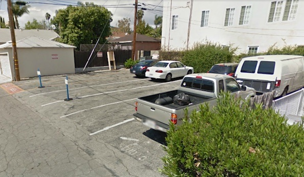 View of Westlake Studio parking lot, via Google Maps