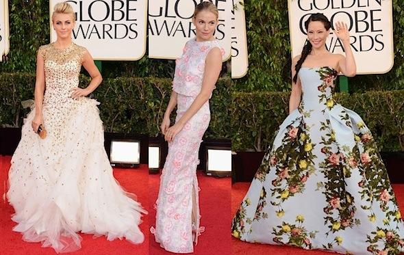 Worst Dressed golden Globes 2013