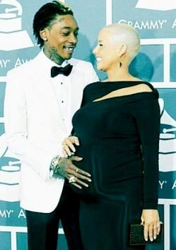Amber Rose Grammys 2013