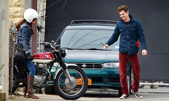 Andrew Garfield Shailene Woodley