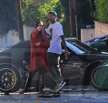 Chris Brown crash 2013