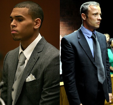 Chris Brown/Oscar Pistorius