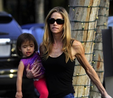 Denise Richards spends some quality family time with her daughters in Bel Air!