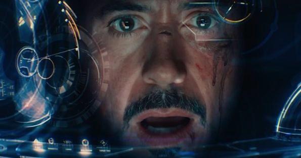 iron man surprise face