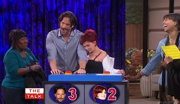 Joe Manganiello The Talk
