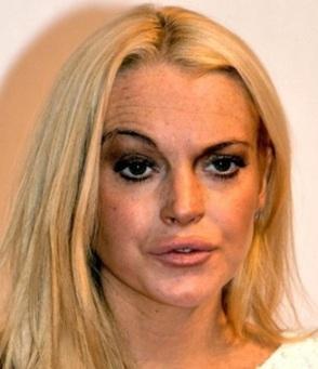 Lindsay Lohan unsexy
