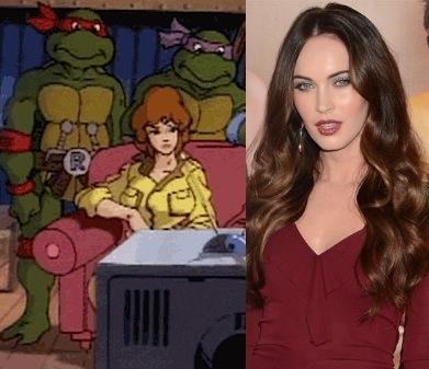 Megan Fox April