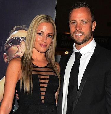 Oscar Pistorius girlfriend