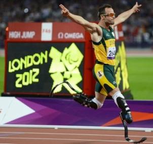 Oscar Pistorius legs