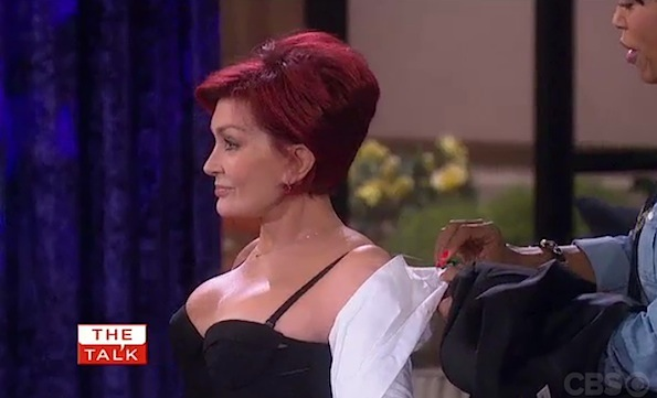 Sharon Osbourne boobs