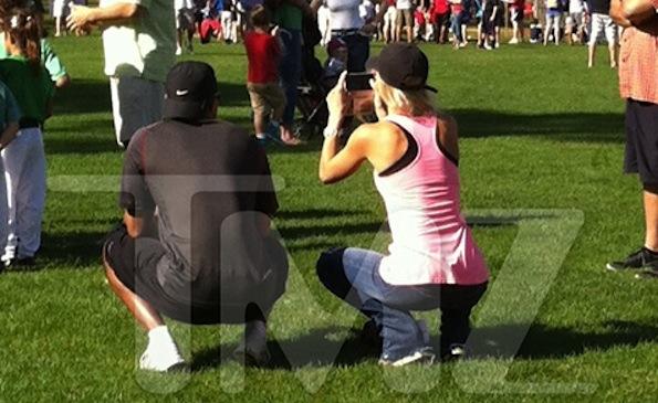 Tiger Woods Elin 2013