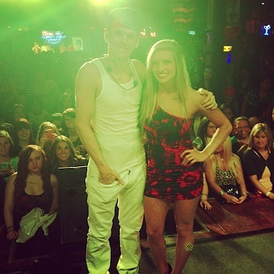 Aaron Carter upset fan