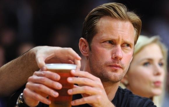Alexander Skarsgard beer