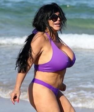 Big Ang bikini