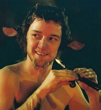 James Mcavoy shirtless fawn