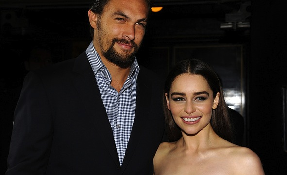 Jason Momoa Emilia Clarke 1
