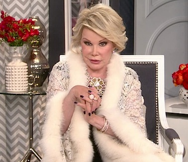 Joan Rivers Oscar special 2013