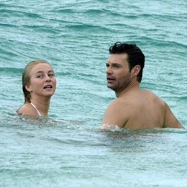 Julianne hough swimming