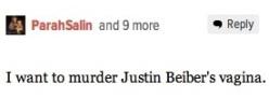 Justin bieber's vagina