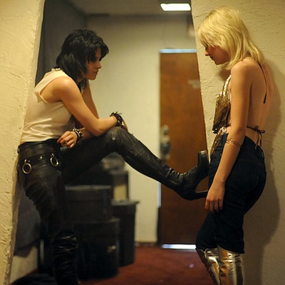 The runaways sex scene