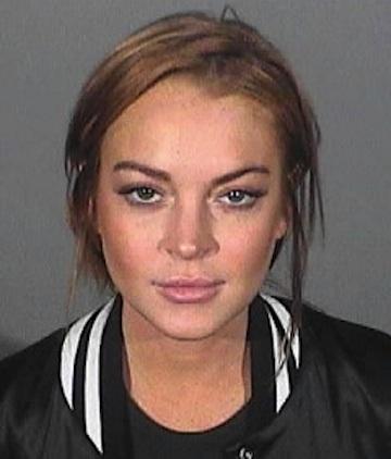 Lindsay Lohan mugshot 2013