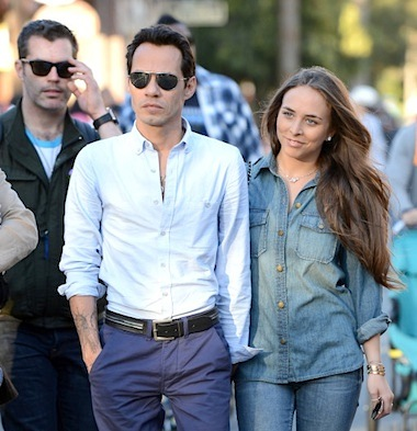 Marc Anthony new girlfriend