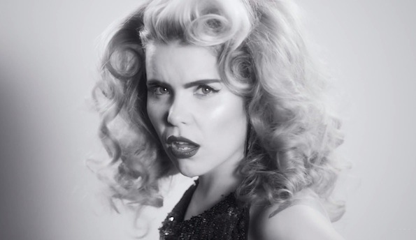 Paloma Faith black and blue
