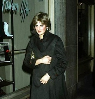 Princess Diana in drag