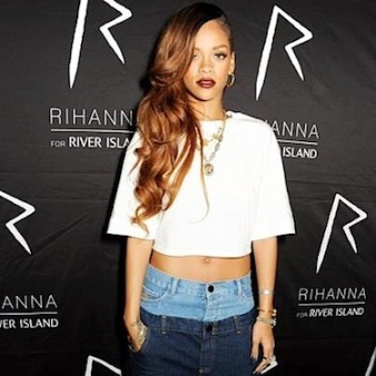 Rihanna two pants