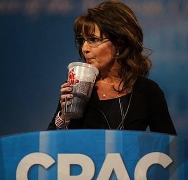 Sarah Palin Big Gulp