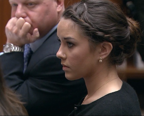Alexis Neiers in court