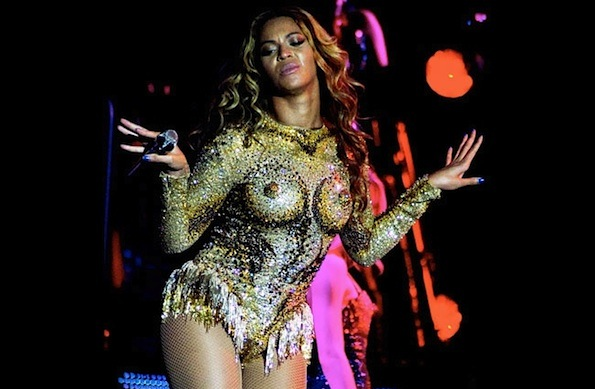 Beyonce nipples