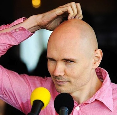 Billy Corgan confused