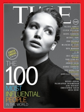 Jennifer Lawrence time magazine cover